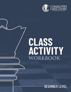Beginner Chess Workbook Cover