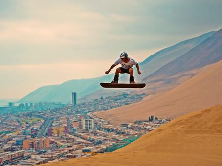 Sandboard en Cerro Dragon de Iquique