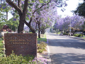 You are entering Claremont