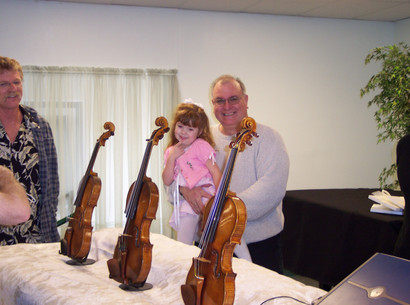 Three Stradivarius Instruments