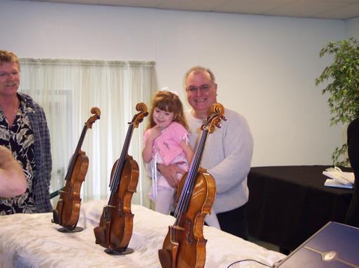 Three Stradivarius Instruments