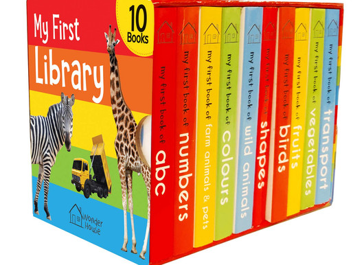A wonderful set of 10 board books for kids