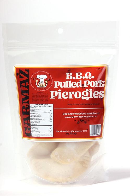 BBQ Pork Pierogies
