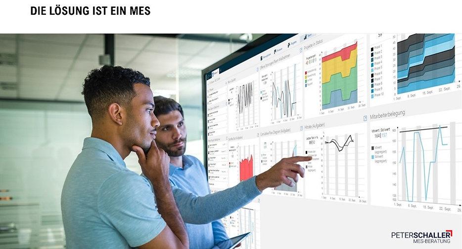 MES-Dashboard, MES-Einführung, Vorteile eines MES