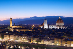 Sunset on Piazzale Michelangelo
