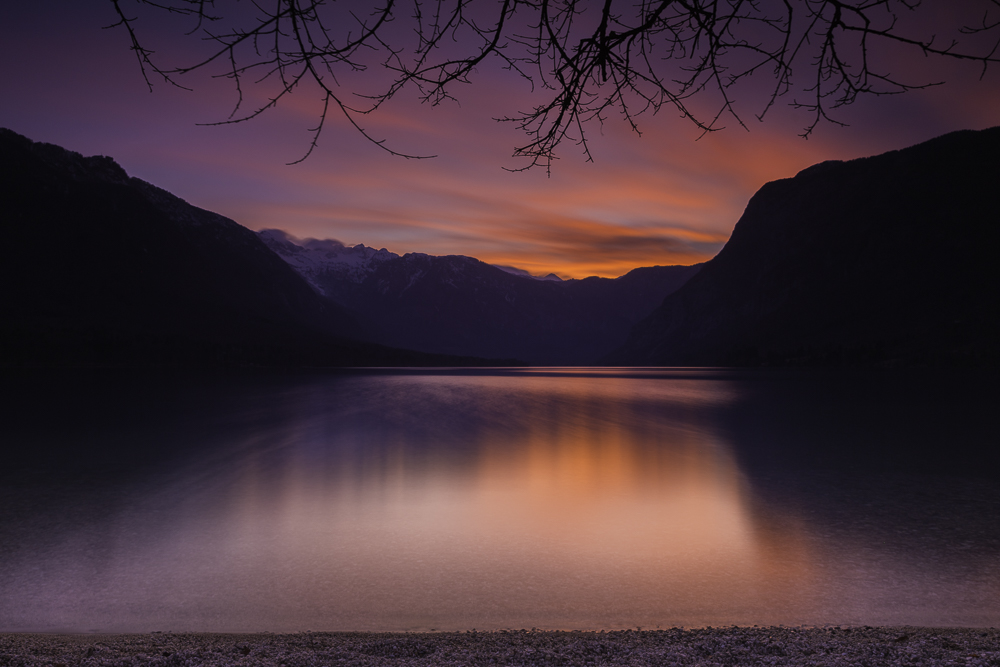 Last Light - Lake Bohinj