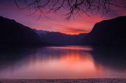 Last Light - Lake Bohinj