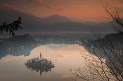 Dawn - Lake Bled