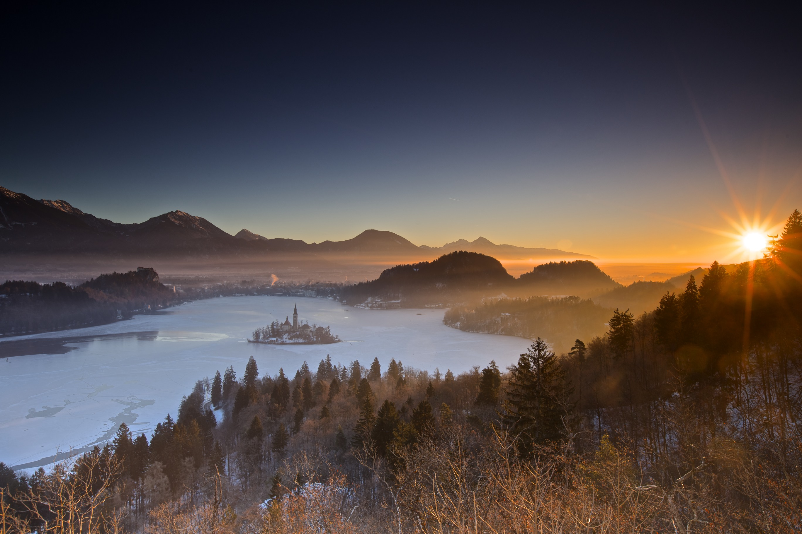 Lake Bled from Osojinca View Point