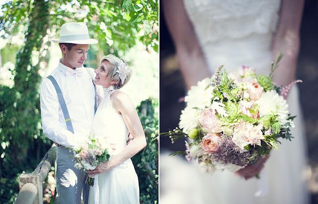 Mariage Comme à la Maison d'E&M     aux Jardins des Martels