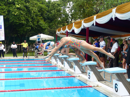 SEAG 2017 swimming competition