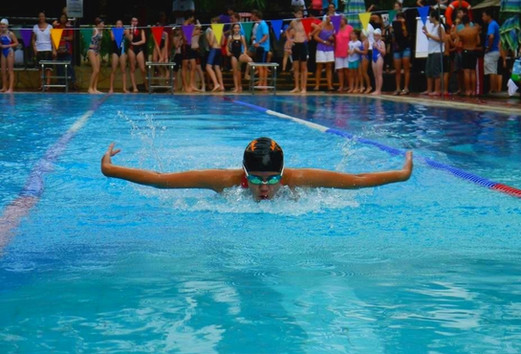 Neptune League Swimming Competition between Swim Clubs