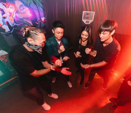 Jeffrey Like, DJ Leviticus and Chesta Beats