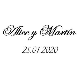 Alice y Martín