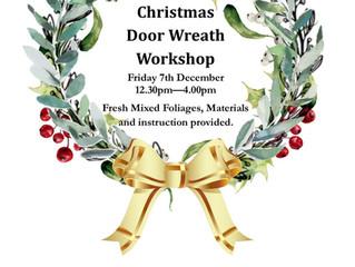 2018 Christmas Wreath Workshop