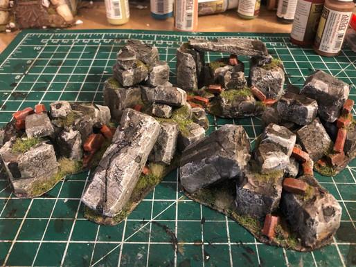 Let's Build! Victorian Ruins Pt 6 - Scattered Rubble