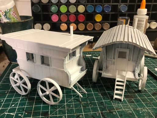 Let's Build! Gypsy Vardos Pt 1 - The Build
