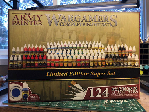 Product Review: The Army Painter Special Edition Complete Paint Set
