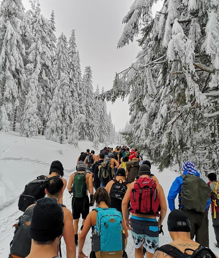 Our ascent to mount Sniezka