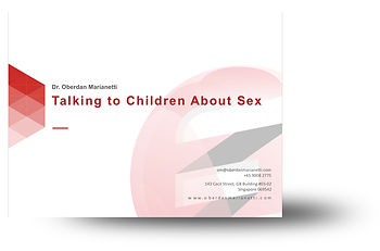 Talking To Chidren About Sex