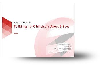 Talking To Chidren About Sex