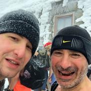On top Mount Snēžka