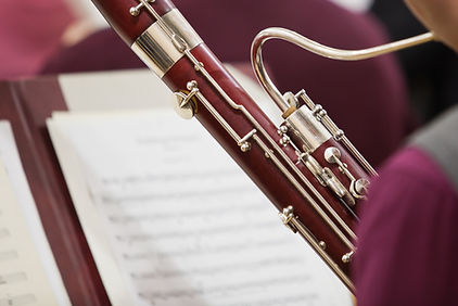 Person Playing Bassoon