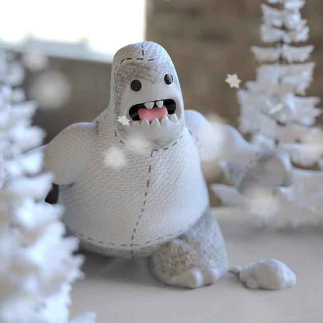 Yeti's Augmented Christmas