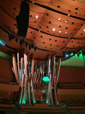 LA Phil Green Umbrella concert