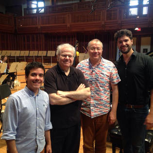 Tanglewood Music Center with Emanuel Ax