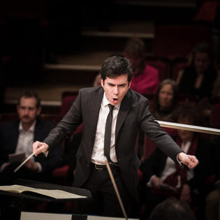 Debut with BRSO and assiting B. Haitink