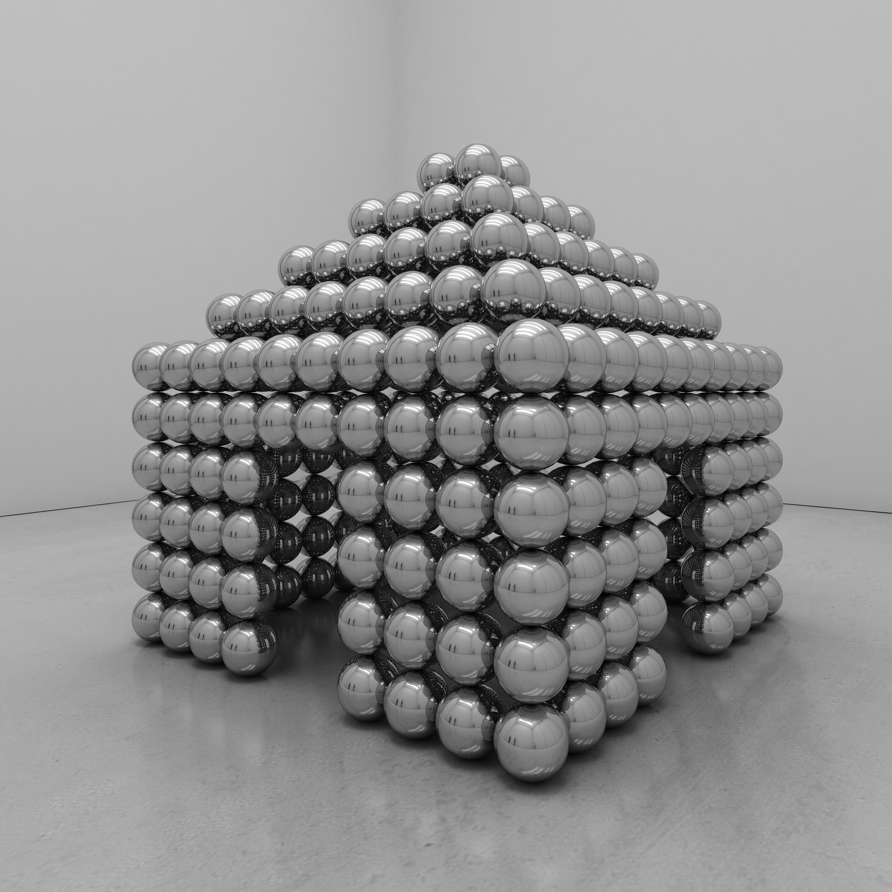 """cube sphere house"""