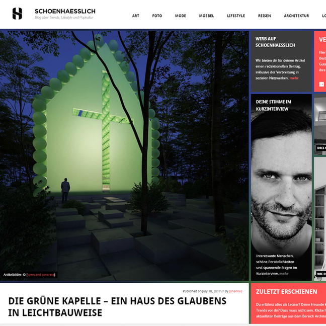 Schoenhaesslich present the Green Chapel