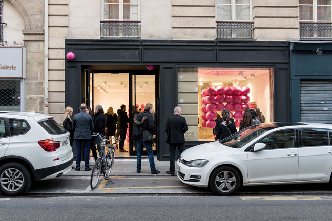 The solo exhibition at Galerie MR80 in Paris is open!