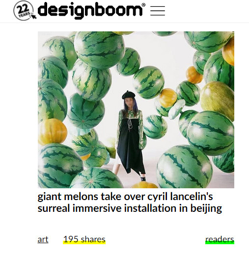 Mix is published on Designboom