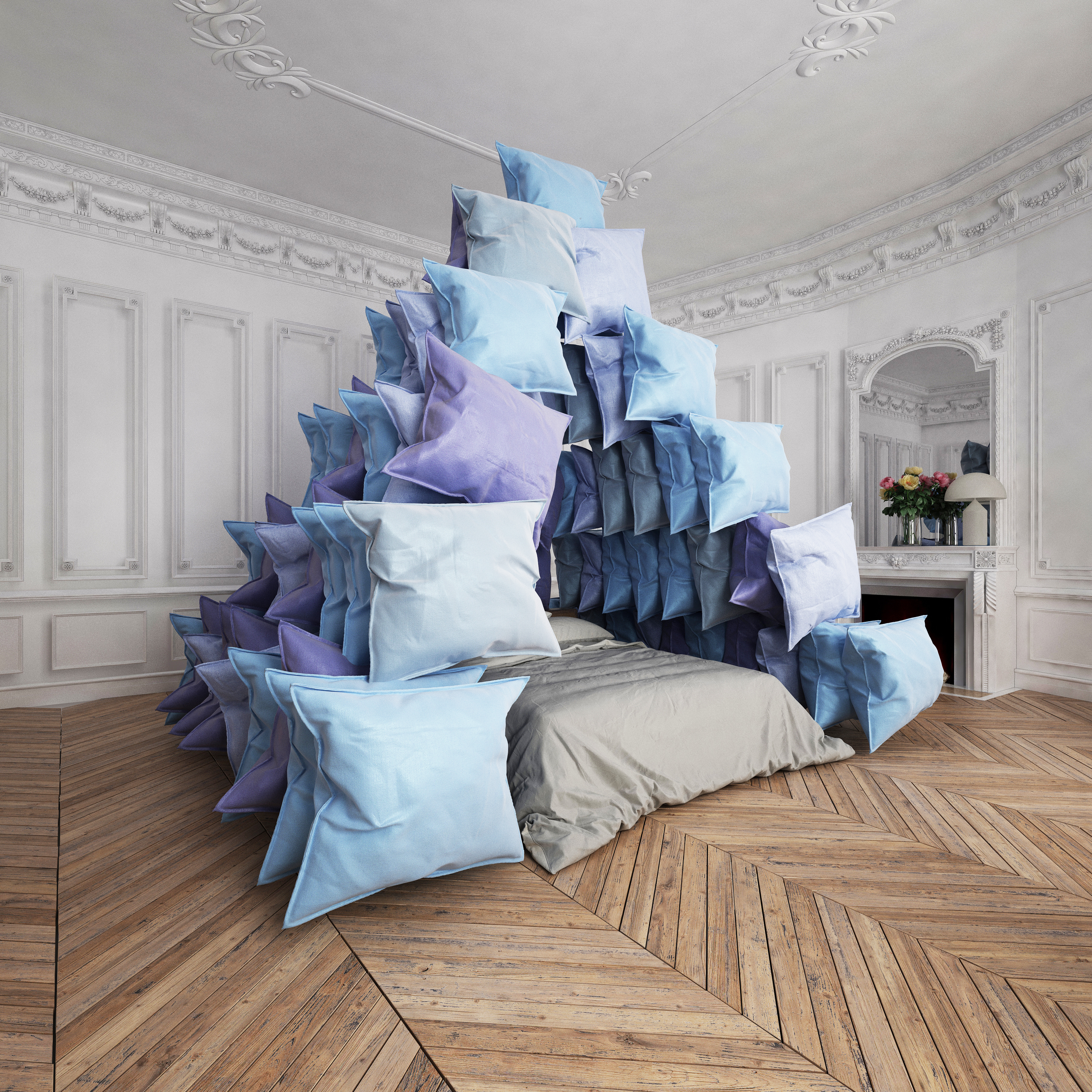 """pyramid pillows"""
