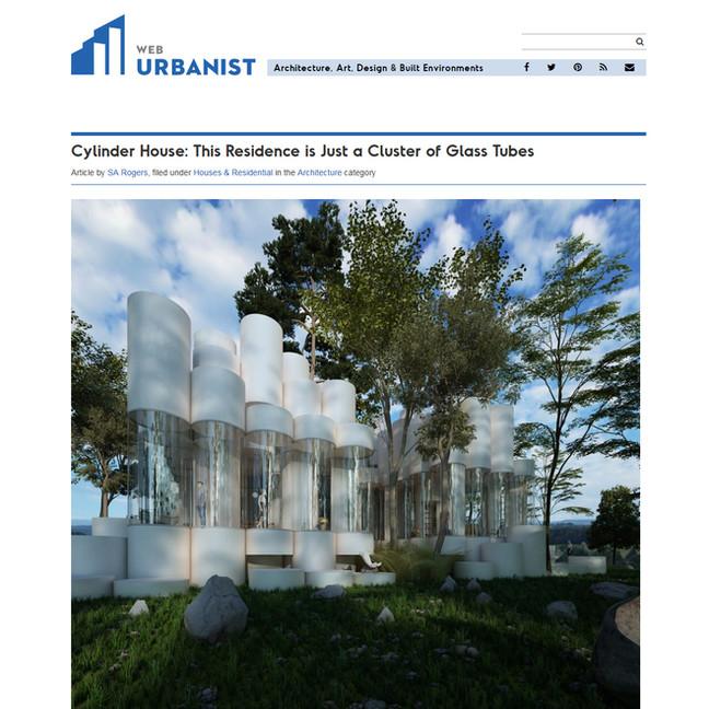 Cylinder House / Web Urbanist