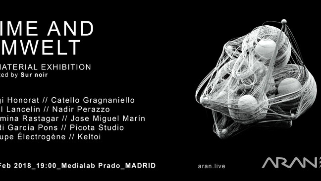 """Opening of the exhibition """"Time and Umwelt"""" in Madrid!"""