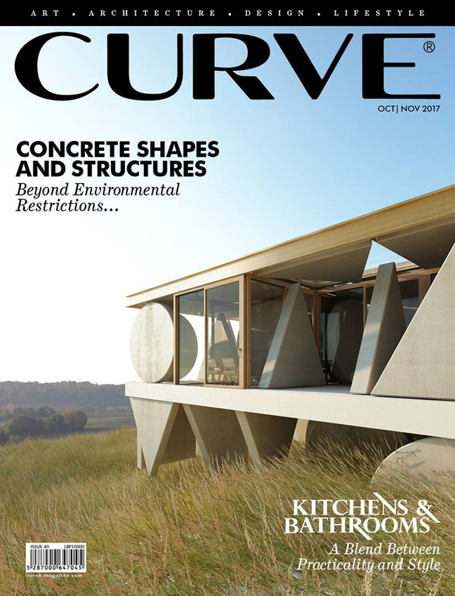 House Geometry on the cover of Curve magazine