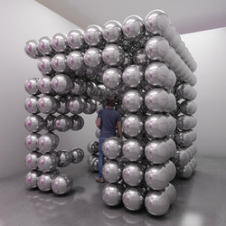 """cube sphere ground"""