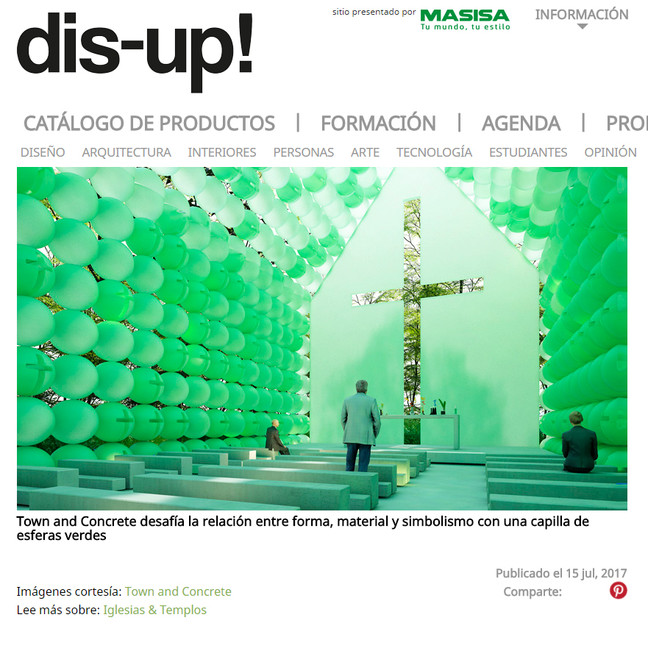 Dis-up! published the Green Chapel