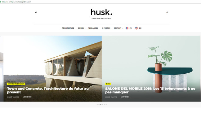 New article in Husk Design Blog