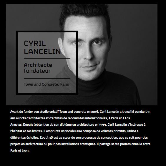 Lecture at RDV Design, Montréal, 15 Nov. 2017