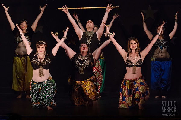 Boheme Tribal Belly Dance peforming Saiidi Swing at Tribal Revolution in Chicago
