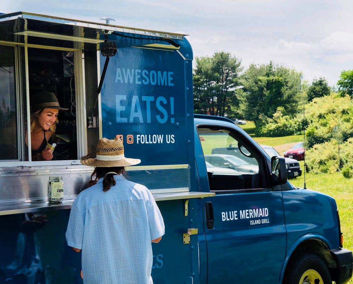 Blue Mermaid Food Truck