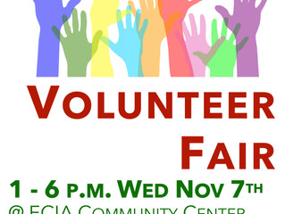 Join us at the Volunteer Fair!
