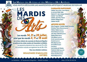 2020 - LES MARDIS DES ARTS