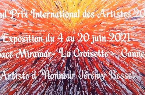 2021 - GRAND PRIX INTERNATIONAL DES ARTISTES