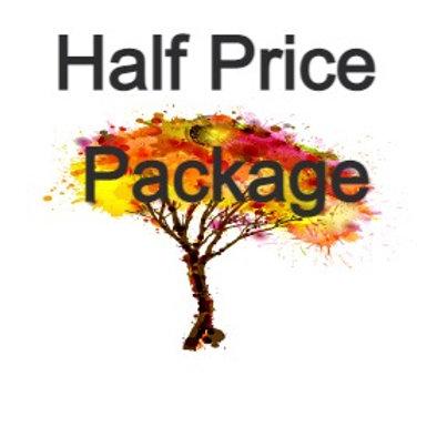 Half Price Package:  5 Bourbon Raffle Tickets - Debit or Bank pmt only