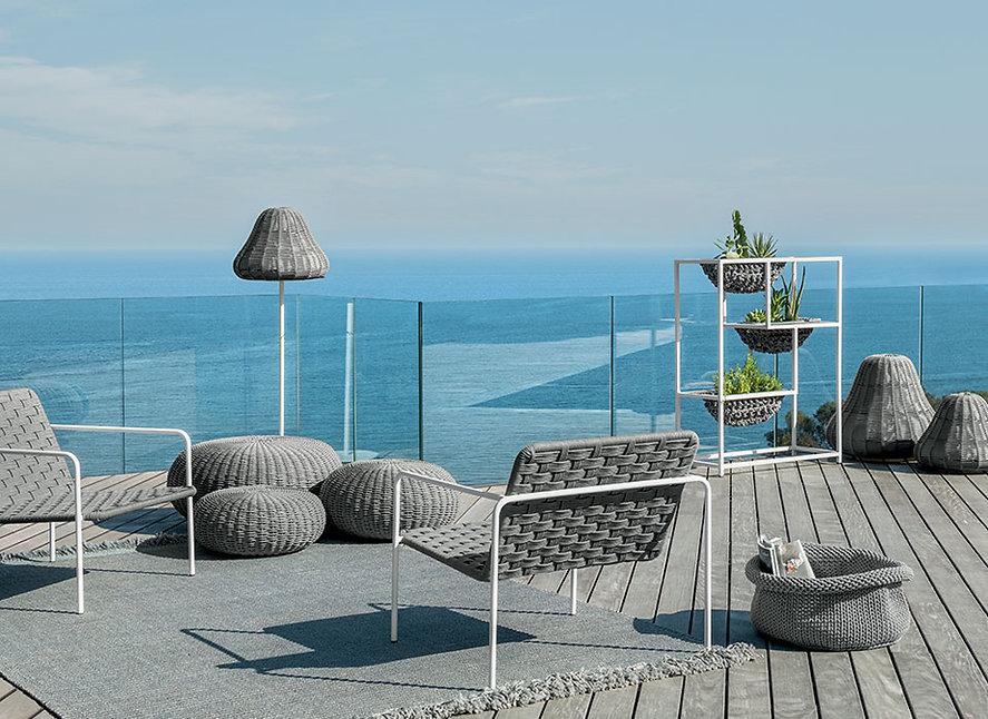 arredo esterni-mobiliario exteriores-outdoor furniture-made in italy